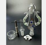 Waterpijp van het Glas van de Collector van de noedel de Vastgestelde