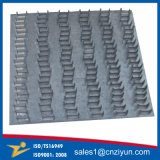 Las placas de acero galvanizado puntas Puntas rectas