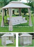 二重屋根が付いているデラックスな振動椅子(ベッドとして伸びることができる)