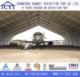 Tienda industrial del hangar del almacenaje del pabellón de aluminio de la carpa