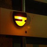 LEDの太陽塀ライト、庭ライト