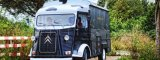 Vrachtwagen van het Voedsel van de Koffie van de Karren van de Hamburger van de Motor van de Kar van het voedsel de Elektrische Rode Mobiele