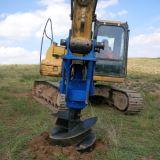 Bit de broca da terra do eixo helicoidal dos acessórios da máquina escavadora