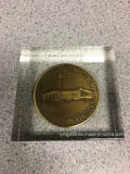 Bestes verkaufendes Acrylmünzen-Papiergewicht