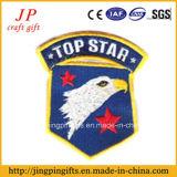 2017 insignia de encargo del bordado del remiendo de la tela de la alta calidad