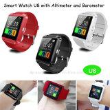 Novo design elegante relógio Bluetooth® com barómetro (U8)