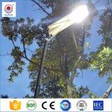 容易なインストール8W-120Wは1つの太陽街灯のすべてを統合した