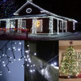 Weiße dekorative feenhafte Zeichenkette Lights&#160 der Farben-24V 200 LED 66FT;
