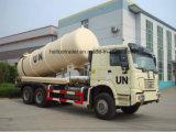 5-8 Cbm-Vakuumabsaugung-LKW, Absaugung-Abwasser-LKW, fäkaler Absaugung-LKW