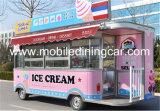 Тележка/тележка торгового автомата мороженного с длинним сроком службы