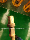 Inclinada así inclinado 3/4 Sucker Varilla Grado D centralizador de nylon