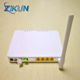 Zc-500gwt 4ge+ CATV+ WiFiの単一のファイバーFTTH CATVの光レシーバGpon ONU