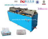 Máquina semiautomática del lacre del rectángulo del cartón de papel de tejido de la alta calidad
