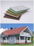 Panneau de haute résistance de la colle de fibre de poids léger pour le panneau de revêtement de mur extérieur