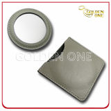 Fancy Design Apple Shape PU Leather Cosmetic Mirror