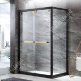 G02f12L recentemente progettano lo schermo di acquazzone d'attaccatura di Frameless di vetro di scivolamento dell'acciaio inossidabile della rotella 304