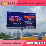 Visualizzazione di LED esterna CD di colore completo 8000 (P10 che fanno pubblicità al comitato dello schermo di visualizzazione del LED)
