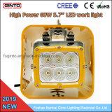 60W à haute intensité 5.7inch phare de travail à LED pour les machines de terrassement