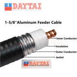 L'aluminium le fil RF 1- 5/8 de l'aluminium le câble du chargeur