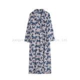 Badjas Van uitstekende kwaliteit van de Polyester van jonge geitjes 100% de Zachte Afgedrukte