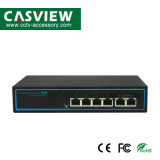 CPE-4204b 6 ports 10/100 Mbit/s ; commutateur Poe 4 Ports Poe*100/100MB/s ; 2*10/100Mbps Port uplink ;