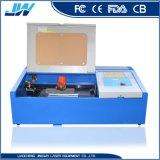 Gravure de découpe laser CO2 des machines pour le plastique acrylique MDF en cuir