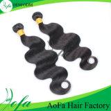 Direktes Fabrik-Preis peruanisches Remy Haar-natürliches Menschenhaar