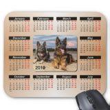 Fábrica profissional para anunciar a almofada de rato personalizada do calendário