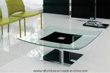 يعيش غرفة طاولة مربّعة زجاجيّة ([تب-س170])