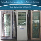 室内装飾のための二重ガラスが付いている中国Top10のアルミニウムドア