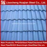 Les matériaux de constructions ont ridé la tôle d'acier pour la toiture en métal