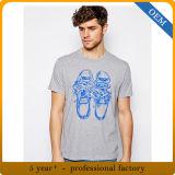 티 셔츠를 인쇄하는 주문 고품질 100%년 면 Mens