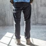 Dos homens feitos sob encomenda da planície do lazer da forma do lápis do outono da mola calças magros das calças de brim