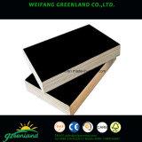21mm dos veces la calidad de la prensa caliente Fillm frente la madera contrachapada con película negra