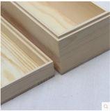 Boîte-cadeau en bois fabriquée à la main de première pente avec glisser le couvercle