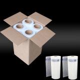 Empaquetage blanc de pellicule de polyéthylène