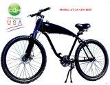 Le vélo de roue de rai à vendre, bicyclette avec le réservoir de gaz a établi le bâti
