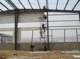 Magazzino prefabbricato/gruppo di lavoro della struttura d'acciaio con la struttura di tetto metallica