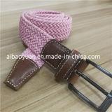 Cinghia della cinghia del Knit tessuta colore sveglio di colore rosa di stile