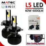 2018년 LED 헤드라이트 새로운 S2 L6 L5 G5 G6 G20 Canbus 차 LED 헤드라이트 전구 40W 60W 80W 자동차 부속 LED 헤드라이트 H4 H7 H11 H15