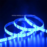 Le silicium a approuvé ce 60LED étanche/M3528 SMD LED Flexible RVB Strip Light