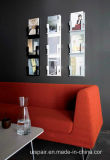 Uispair Decorative Book Rack Newspaper Magazine Rack