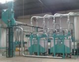 Муки ролик питание фрезерный станок для обработки кукурузы 20t/d Африка