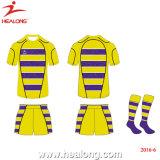 Usura su ordinazione di sport della Jersey della camicia di sublimazione di rugby