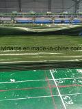 중국 군 녹색 주황색 PE 방수포 장, 많은 방수포 트럭 덮개
