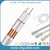 Высокое качество 75 Ом коаксиальный кабель кабельного телевидения (CT100)