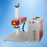 Máquina de gravura portátil de marcação de laser de fibra em metal