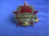 Badge Pin Pin placas de policía de aleación de zinc 3D militares