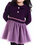 Chemise manches longues hiver robe de princesse DK9006