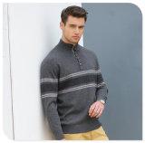 Modelos que hacen punto del suéter de la cachemira de los hombres del cuello del polo/del suéter de la Navidad